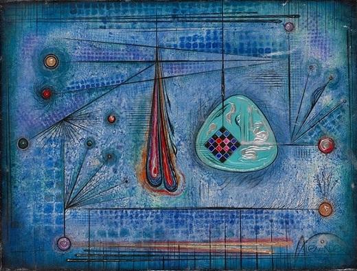 А.Кедрин. Желание веков. 2005.Х.м. 68.5х91