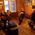 А.Зарипов в галерее ИндрикГрад на Винзаводе.
