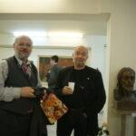 Скульптор Владимир Колесников (справа), Лев Алабин