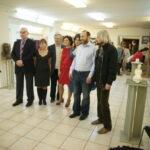 Скульптор Александр Рябичев (второй справа), Александра Загряжская, Ирина Разумовская, Иван Климов, Жанна Булгакова