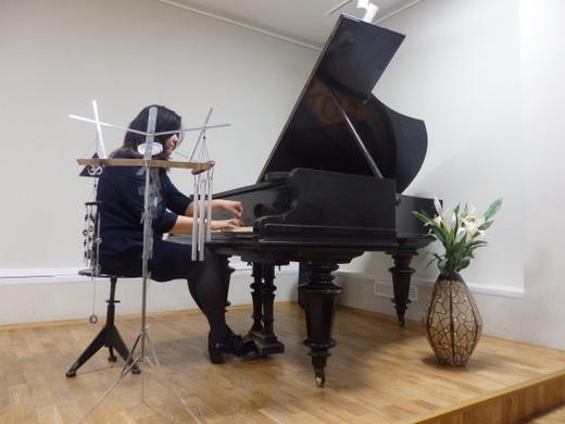 """17 -ый Международный Фестиваль """"Весна в России"""" за фортепиано автор и исполнитель Диляра Габитова"""