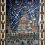 Присекин Н.С.,(Россия, Москва), Салют Победы, перегородчатая эмаль,139х109