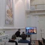 Белый зал Российской Академии художеств