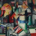 5. Экстер А.А. Флоренция. 1914-1915. Холст, масло. 109,6 x 145,5, Третьяковская  галерея