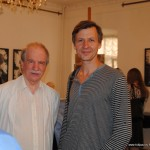 поэт Константин Кедров и скульптор Степан Мокроусов
