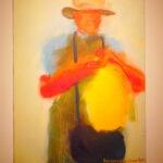 """Выставка живописи  """"Место силы"""" Александра Погоржельского в ММОМА на Гоголевском, 10"""