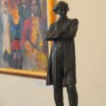 Скульптурный эскиз памятника Н.Г. Чернышевского в Саратове автор скульптор народный художник, Александр Кибальников