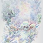 ЛУНА ШЕСТНАДЦАТОЙ НОЧИ. Так легко-легко Выплыла -и в облаке Задумалась луна Мацуо Басе