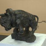Работа скульптора Фрэнка Уиллиамса, США