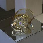 Работа Ольги Победовой, Россия (инсталляция, стекло)