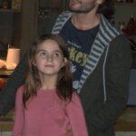 Роман Агишев с дочерью