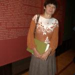 Людимила Денисова –куратор выставки, заведующая художественным  отделом музея