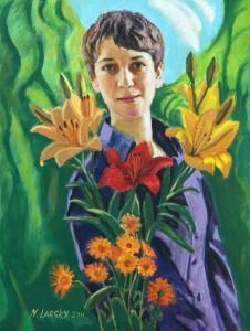 Портрет в цветах  2011