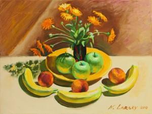 Цветы и фрукты  2010