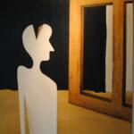 Взгляд в будущее, х\м, акрил, 2010
