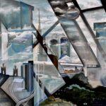 Киевский мост, 2012, холст, масло, 200х200см
