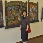 На выставке побывала Ирина Разумовская