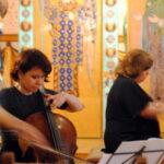 XVIII Международный фестиваль камерной музыки «Весна в России» продолжился в галерее искусств Зураба Церетели на Пречистенке, 19.Наталия Зыбина (виолончель) и Анастасия Родионова (фортепиано)