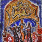 Зураб Церетели  панно из серии Аргонавты