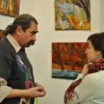 Виктор Тимофеев и Елена Садыкова (кандидат искусствоведения, эксперт по живописи Минкульта РФ)