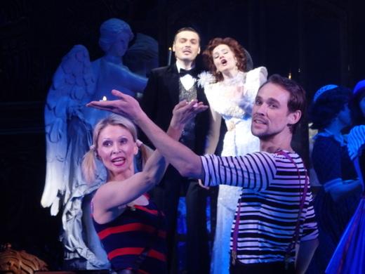 «Брак по-итальянски» новый мюзикл на сцене театра «Московская оперетта»