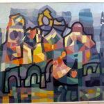 """выставка живописи Валерия Пьянова """" За гранью видимого"""" в """"Галерее на Чистых прудах"""""""