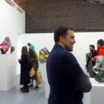 галерея Osnova. Рауль Диас Рейес , печать на алюминии, акрил, плексиглаз. на фото автор