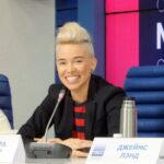 Усадьба-Джаз 2016 пресс-конференция в ТАСС . Варвара Визбор- участник Фестиваля