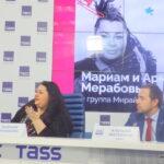 Усадьба-Джаз 2016 пресс-конференция в ТАСС. Мариам Мерабова- участник Фестиваля