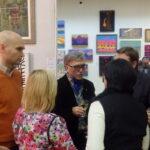 Мухадин Кишев в  кругу друзей и поклонников творчества
